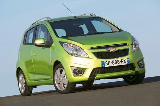 Autoesittely Chevrolet Spark (2011)