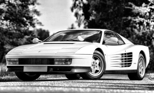 Ferrari Testarossa 1985