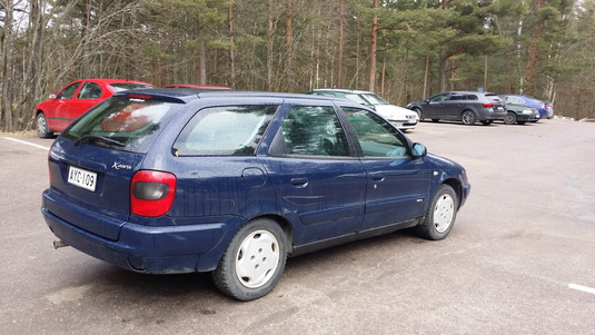Citroën Xsara, Vaihtoauto