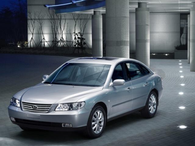 Autoesittely Hyundai Grandeur (2008)