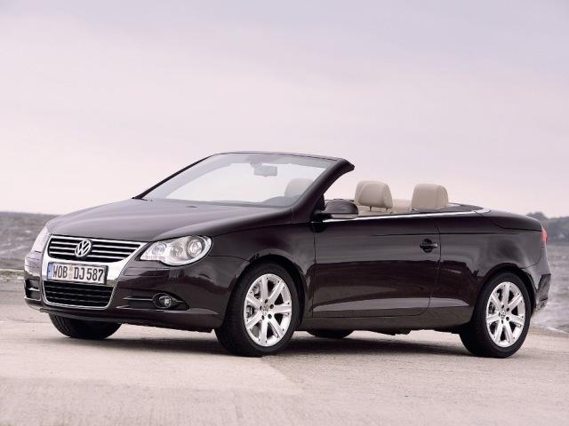 Autoesittely Volkswagen EOS (2008)