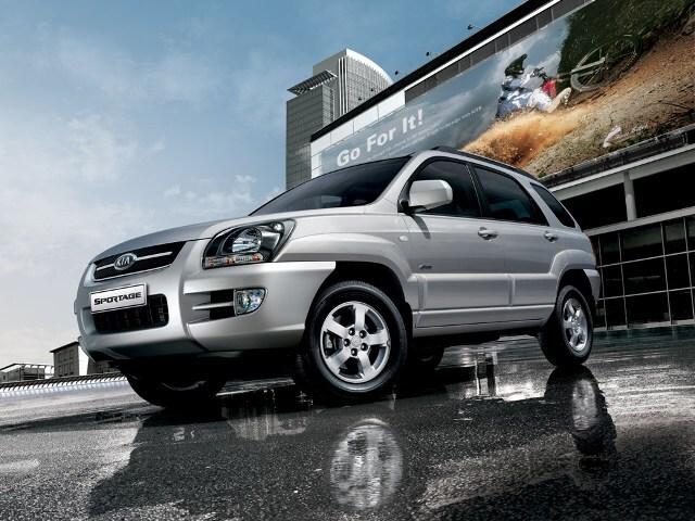 Autoesittely Kia Sportage 2008