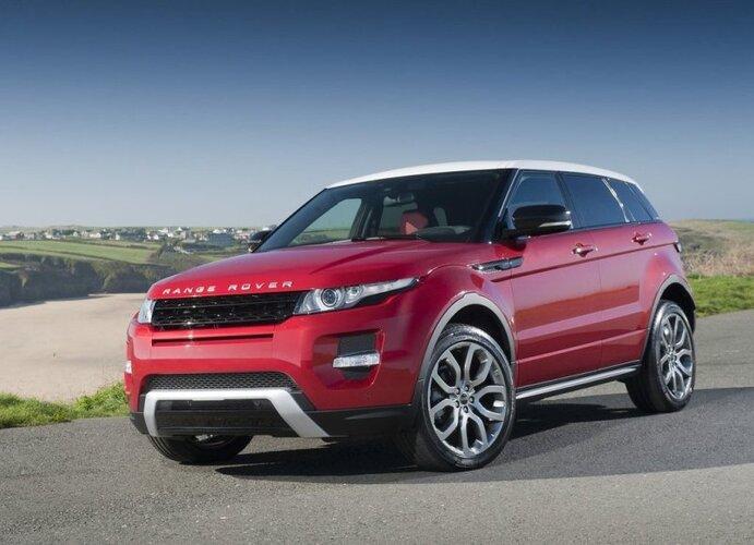 Autoesittely Range Rover Evoque 2012
