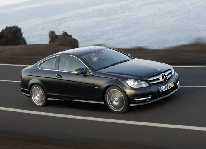 Koeajo Mercedes-Benz C 180 BE Coupé