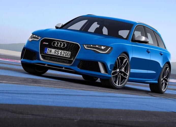 Autoesittely Audi RS 6 Avant 2013