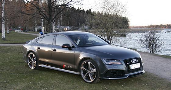 Kaasujalka.fi koeajo ja arvio: Audi RS7