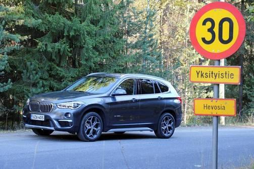 IL Koeajo ja arvio: BMW X1