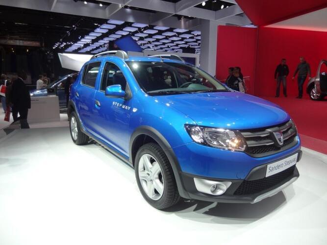 Pariisin autonäyttely 2012: Dacia