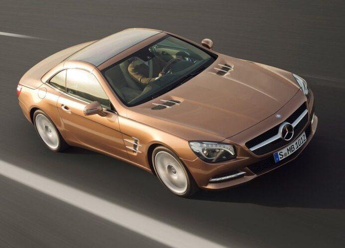 Autoesittely Mercedes-Benz SL 2012