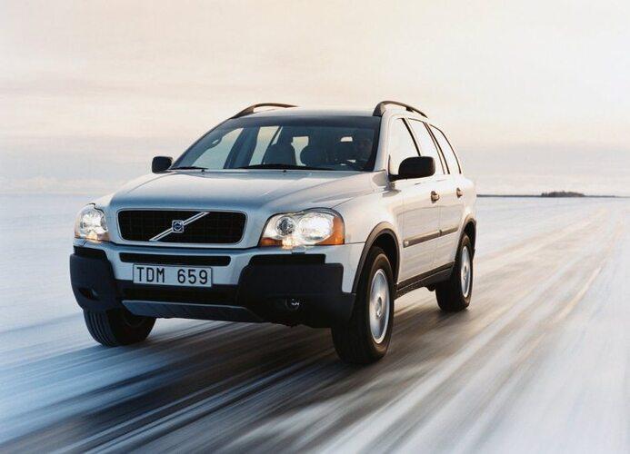 Autoesittely Volvo XC90 2003-2012