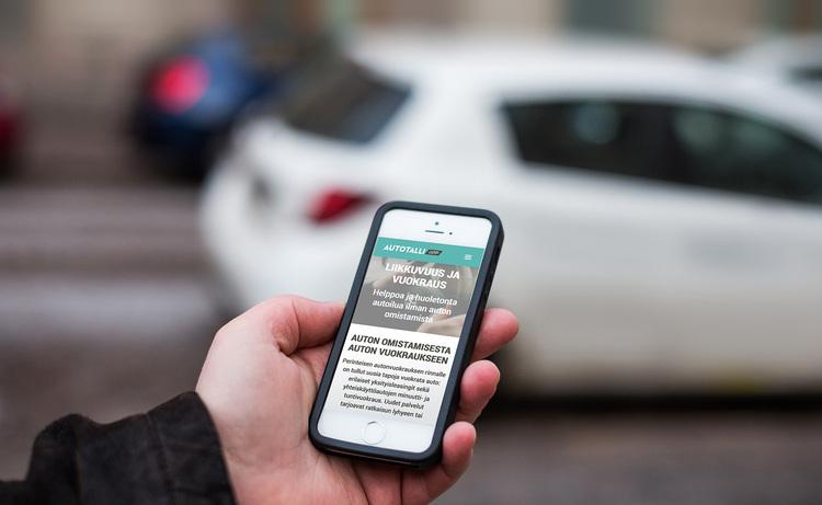 Autoilua ilman omistamista - Uusi liikkuvuuspalvelumme kokoaa autoilun vaihtoehdot yhteen osoitteeseen