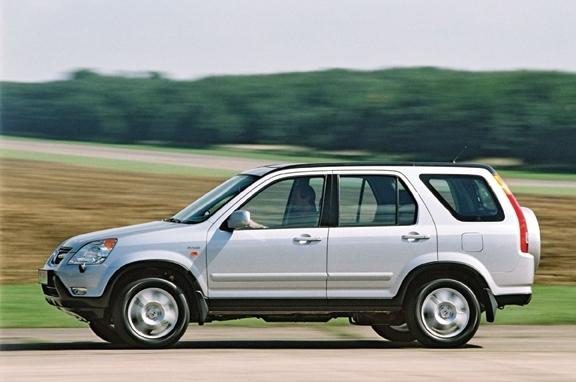 Autoesittely Honda CR-V 2003-2006