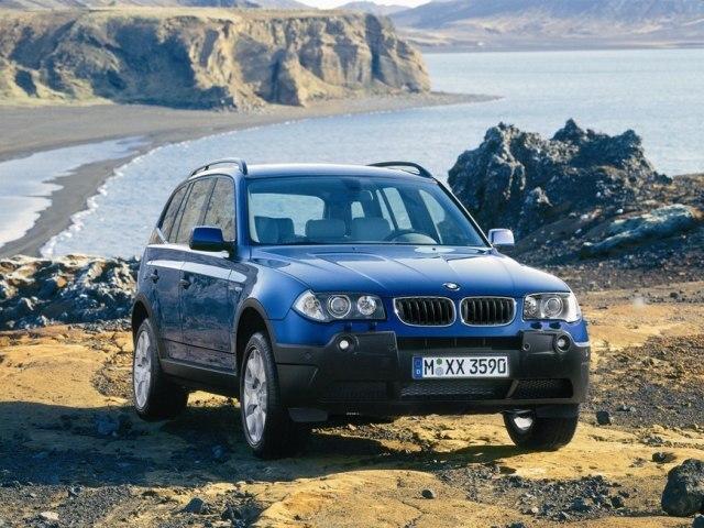Autoesittely BMW X3 2005