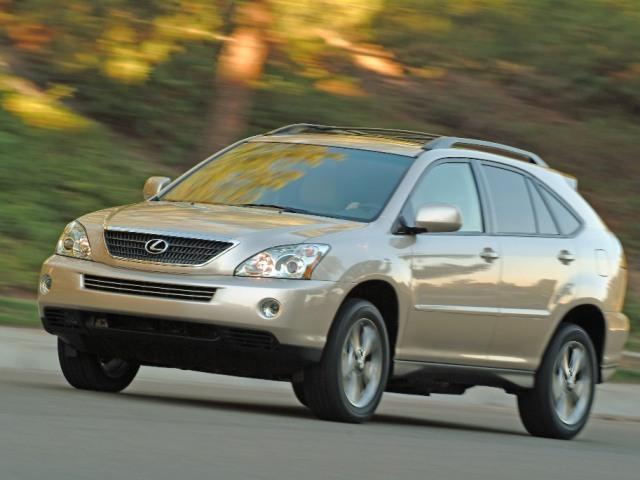 Autoesittely Lexus RX300 2004-2007