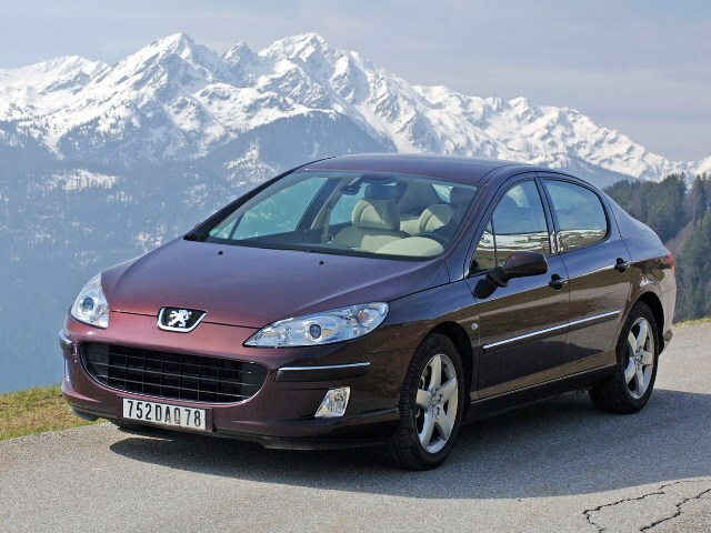 Autoesittely Peugeot 407 2004-2007