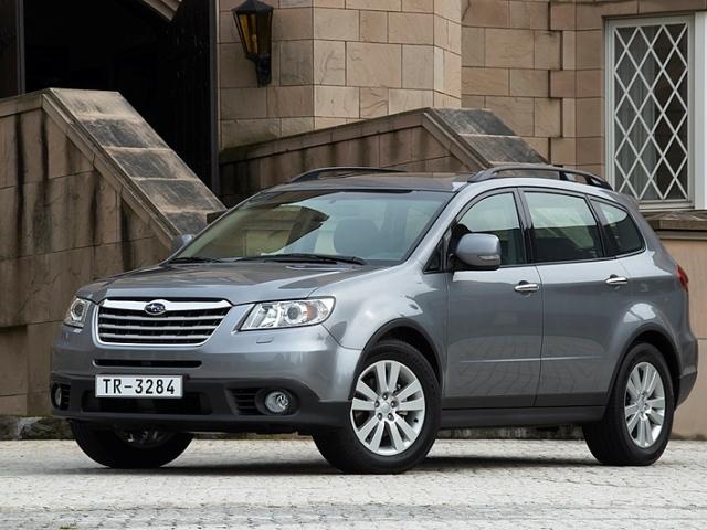 Autoesittely Subaru Tribeca (2008)