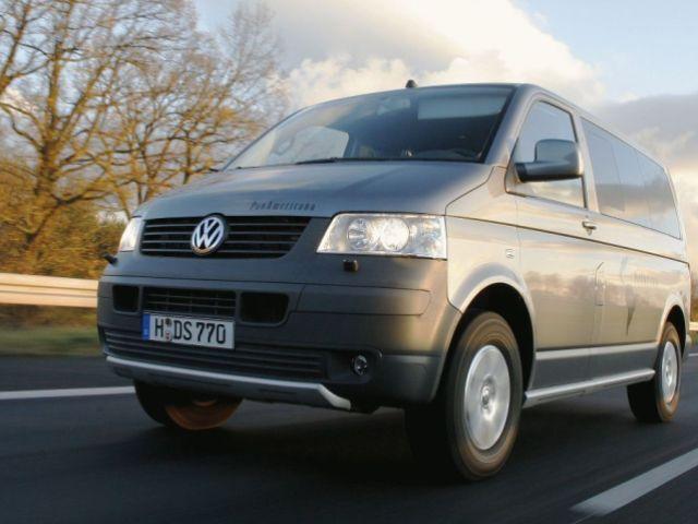 Autoesittely Volkswagen Multivan (2008)