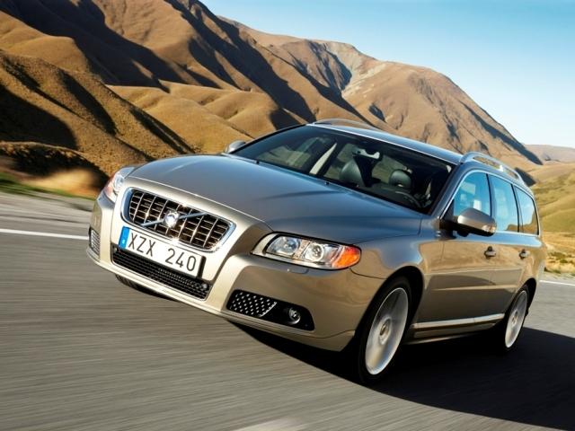 Autoesittely Volvo V70 2008-2009