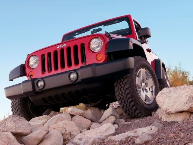 Autoesittely Jeep Wrangler (2008)