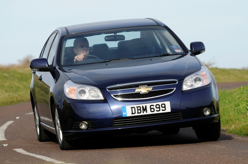Autoarvio: Koeajossa Chevrolet Epica LT diesel (2009)