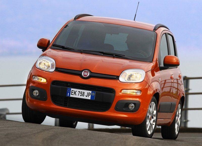 Autoesittely Fiat Panda 2012