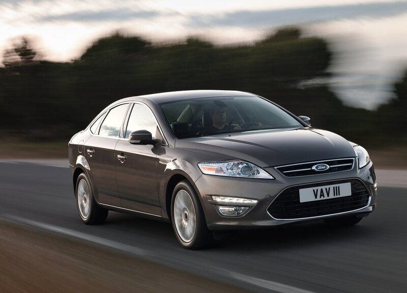 Autoesittely Ford Mondeo 2012