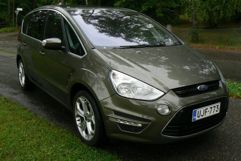 Koeajo Ford S-MAX 2.0 TDCi 163 PowerShift