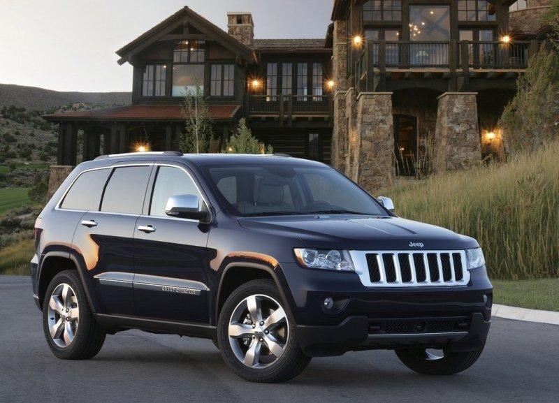 Autoesittely Jeep Grand Cherokee 2012