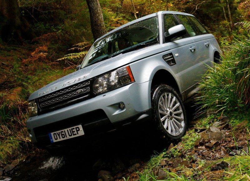 Autoesittely Land Rover Range Rover Sport 2012