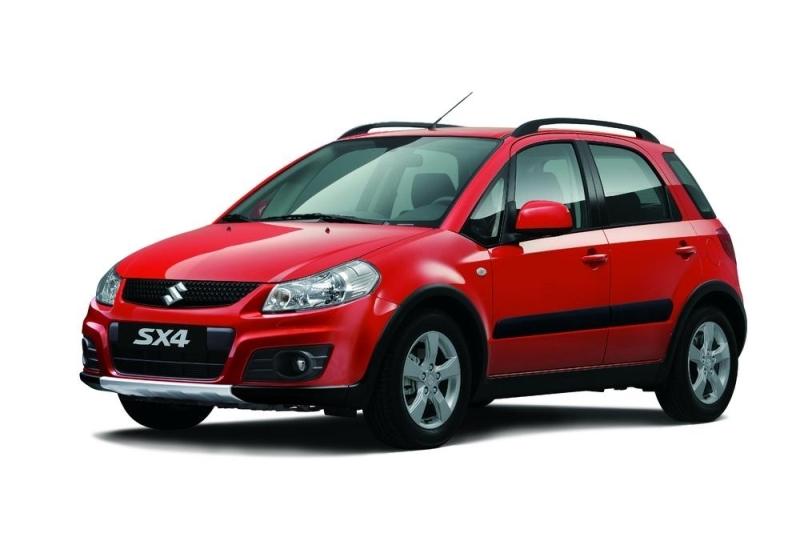Autoesittely Suzuki SX4 2010-2011