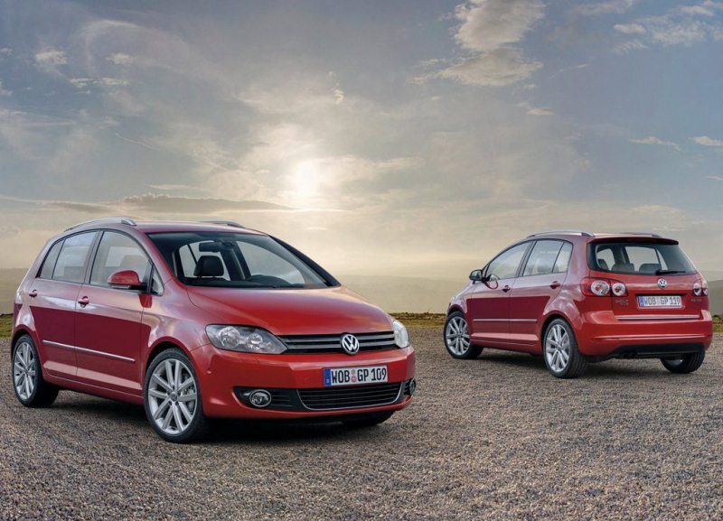 Autoesittely Volkswagen Golf Plus 2012