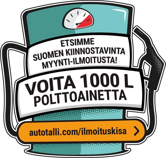 Nyt etsitään Suomen kiinnostavinta auto-ilmoitusta – voittajalle 1000 litraa löpöä!