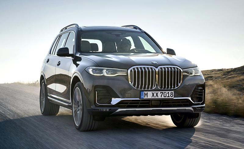 Tässä tulee järisyttävän suuri ja ylellinen BMW X7 – malliston huipulla M50d-moottori