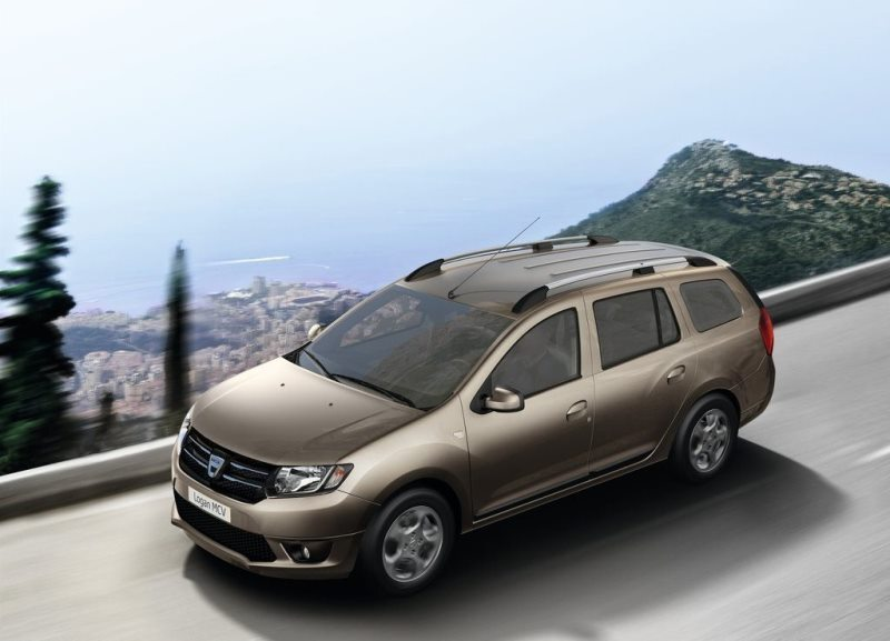 Autoesittely Dacia Logan MCV 2014