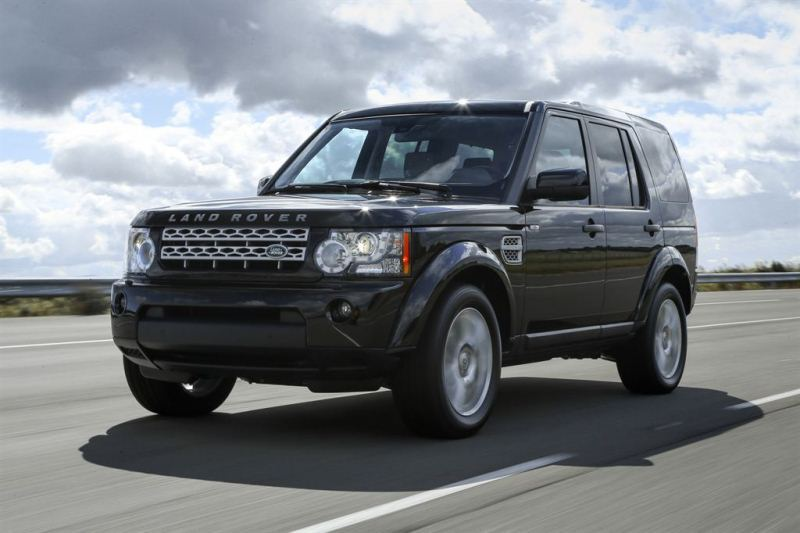 Autoesittely Land Rover Discovery 4 2013