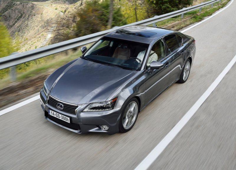 Autoesittely Lexus GS 2014