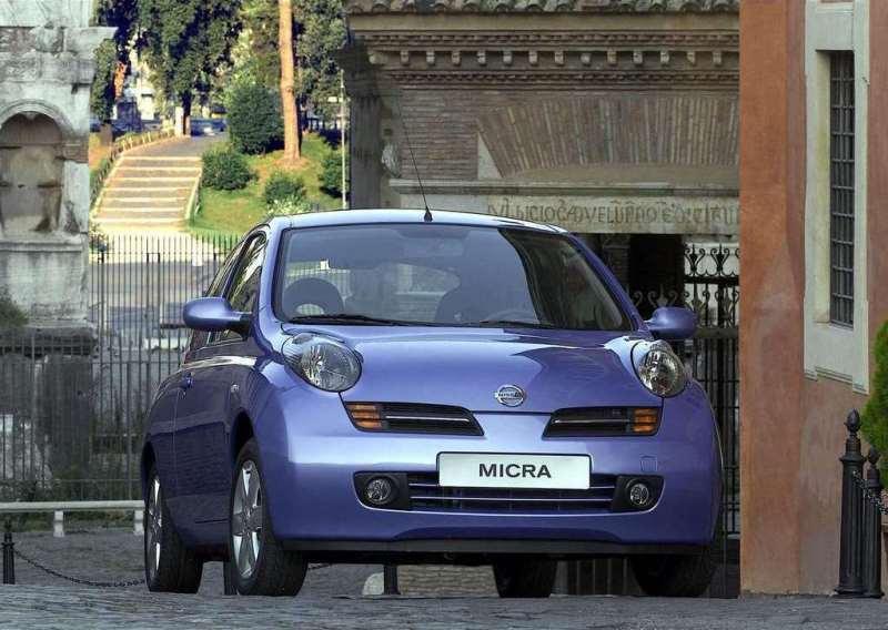 Autoesittely Nissan Micra 2003-2007