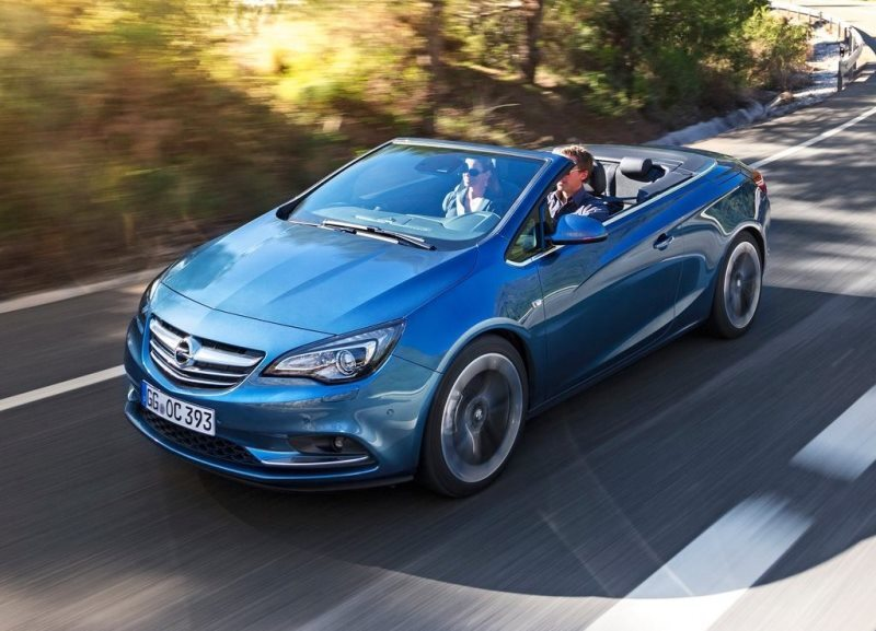 Autoesittely Opel Cascada 2013