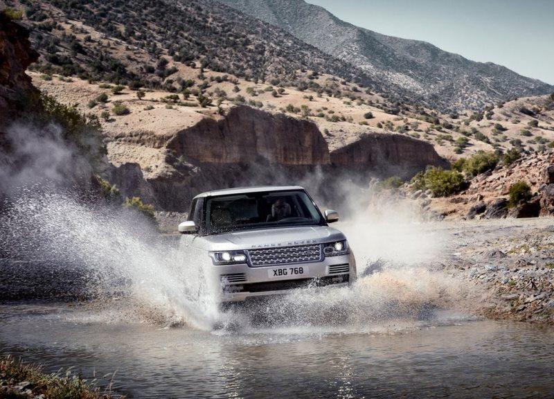 Autoesittely Land Rover Range Rover 2013