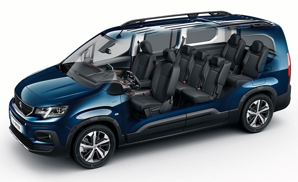 Peugeot e-Rifter pohjakuva