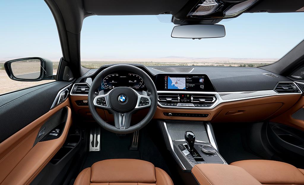 BMW 4-sarjan uudet sisätilat