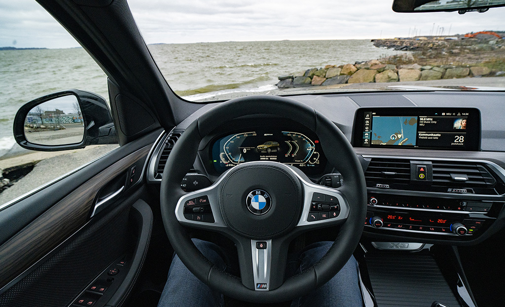 BMW X3 charged edition