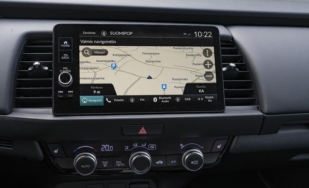 Honda Jazz Honda Connect -järjestelmä