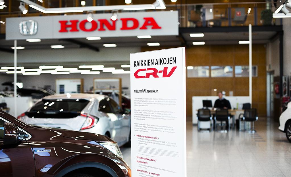 Käyttöauto Tampere Honda