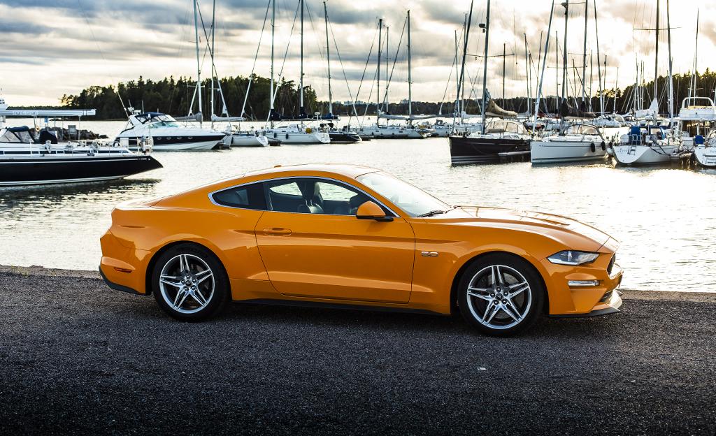 Pakko Kokea Vahintaan Kerran Koeajossa Uusi Ford Mustang