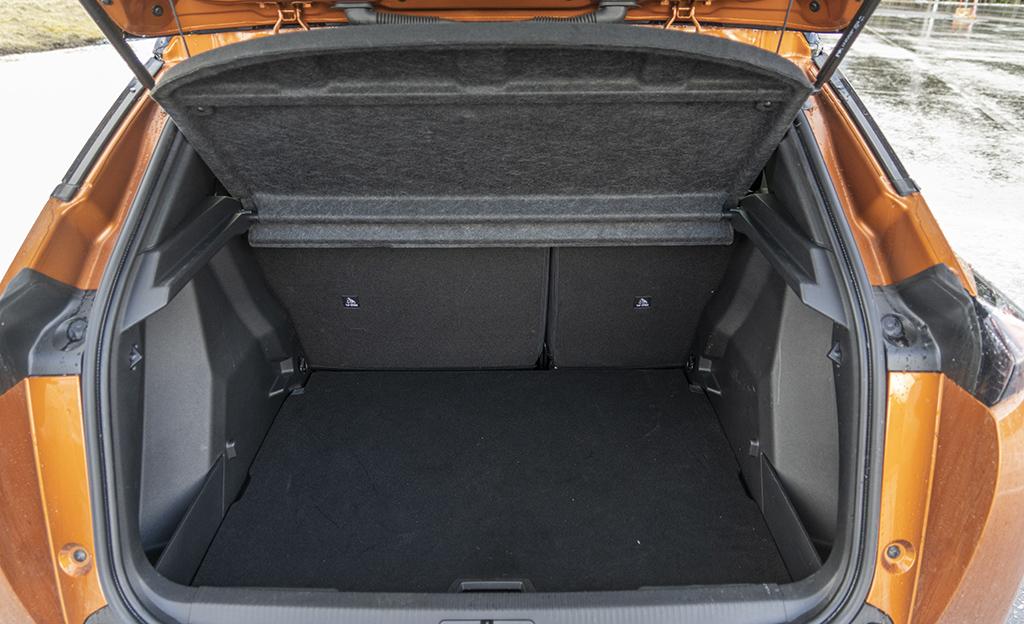Peugeot 2008 tavaratila
