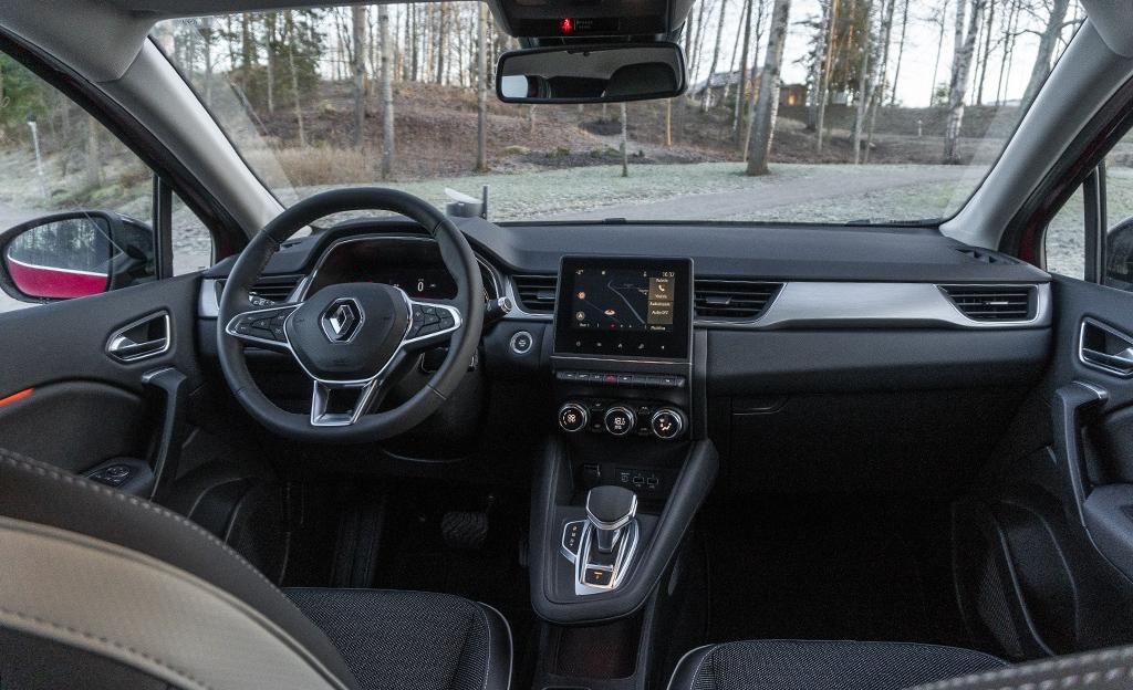 Renault Captur ohjaamo