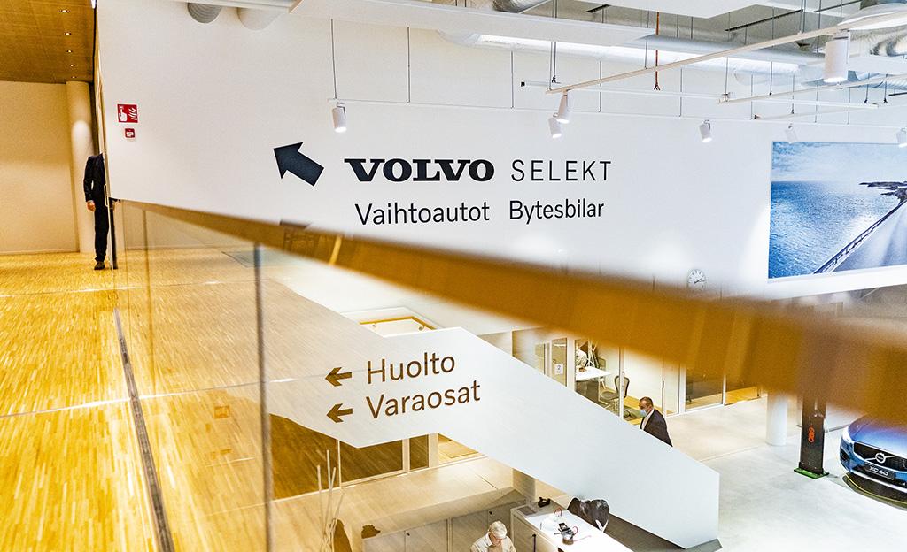 Volvo Selekt vaihtoautotarjonta