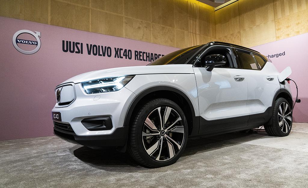 Volvo XC40 sähköauto