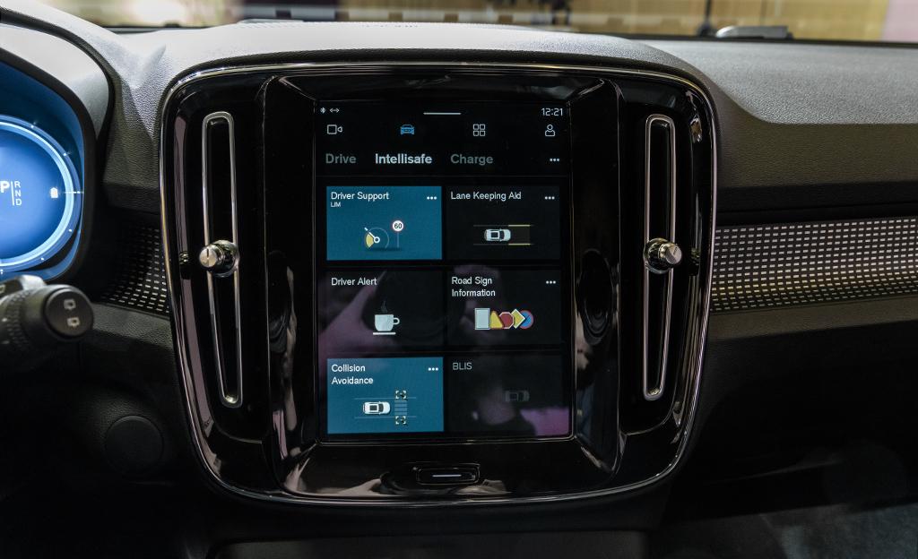 Volvo Android-käyttöjärjestelmä XC40 Recharge